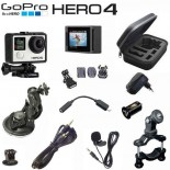 Caméra GoPro Hero4 Silver Edition Pack RALLYE