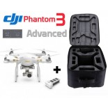 Pack DJI Phantom 3 Advanced + Batterie + Sac à dos
