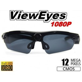 Caméra lunettes VIEW EYES HD 1080P 12MP