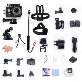 Pack Caméra Sport HD XTC-LIGHT 1080P