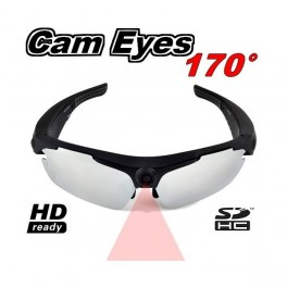 Caméra lunettes CAM-EYES Sports HD 720P 170°