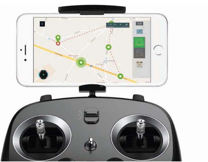 drone xiro xplorer smartphone