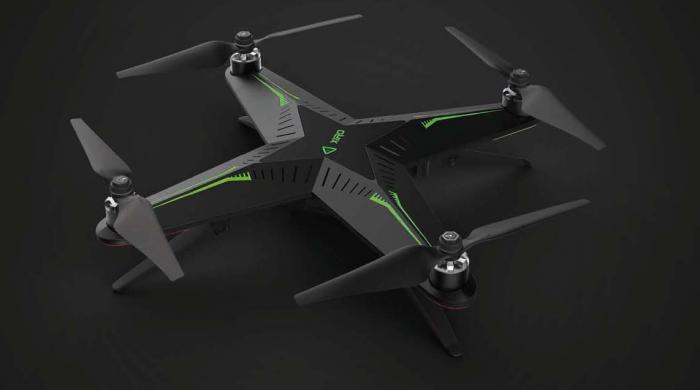 drone xiro xplorer g gopro